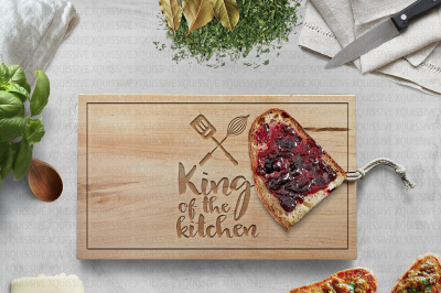 King of the Kitchen - Queen of the Kitchen bundle