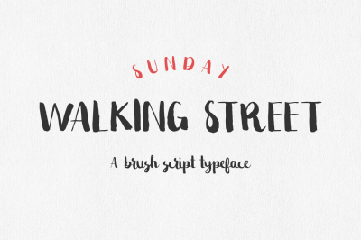 Sunday Walking Street Script