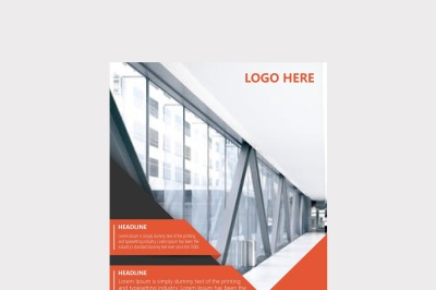 Company Report Brochure
