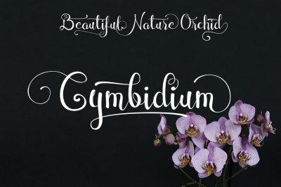 Cymbidium Script