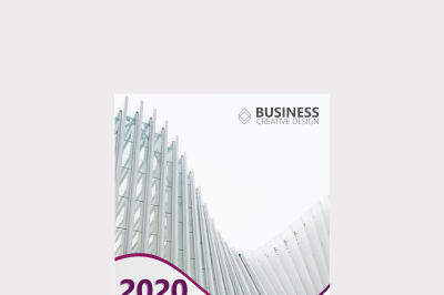 Abstract Business Brochure Cover