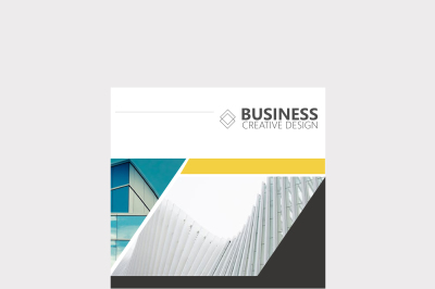 Clean Business Brochure Cover