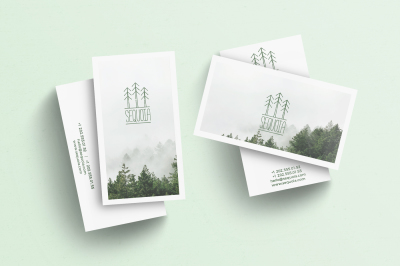 SEQUOIA business card template