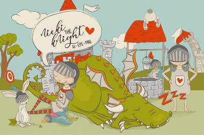 Nicki the Knight - Graphics