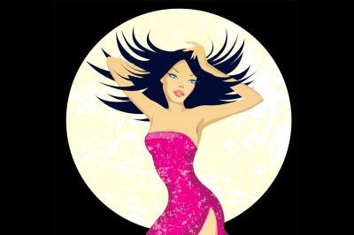 disco woman party