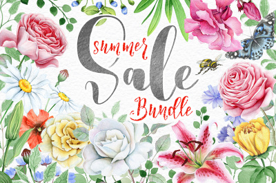 Floral BUNDLE - SUMMER SALE