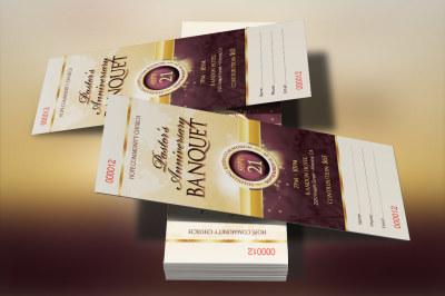 Clergy Appreciation Gala Ticket Template