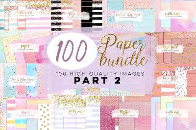 Paper watercolor bundle sale part 2, digital paper, watercolor digital paper, watercolor scrapbooking paper
