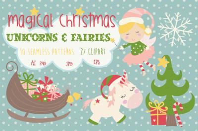 Christmas Unicorns and Fairies