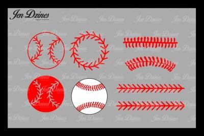 Baseball Bundle SVG DXF EPS PNG