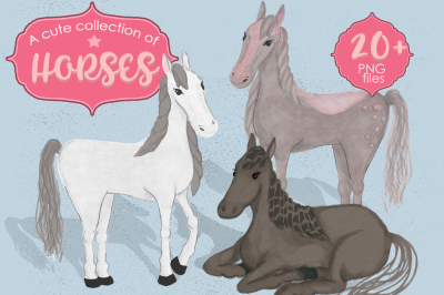 A cute colection of Horses