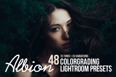 Albion Dark Fantasy Lightroom Presets