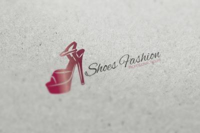 Shoes Fashion Logo
