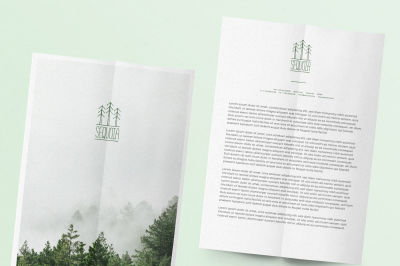 SEQUOIA Letterhead Template
