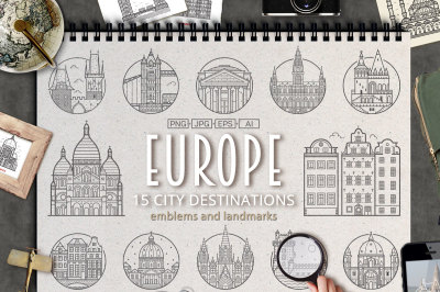 Travel Europe City Destinations