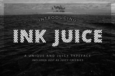 Ink Juice font