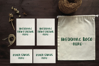Wedding Invitation Mockups