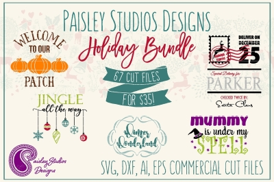 Paisley Studios Designs Holiday Bundle