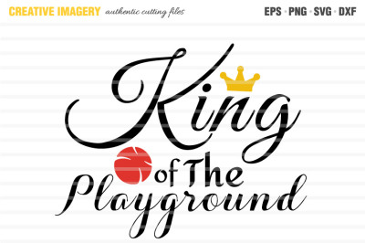 A 'King of The Playground' cut file