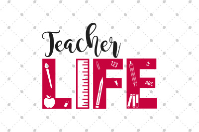 Teacher Life SVG files