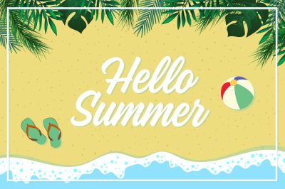 Hello Summer Beach