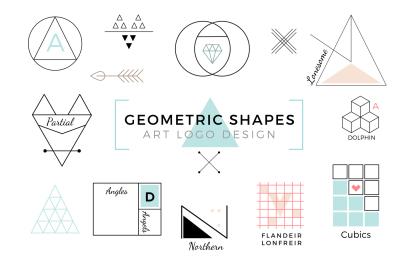 Vector Geometric Shapes & Art Logo