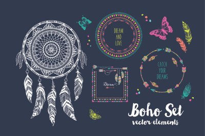 Colorful Boho Set