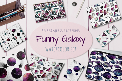 Funny Galaxy Patterns