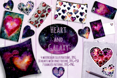 Heart and Galaxy