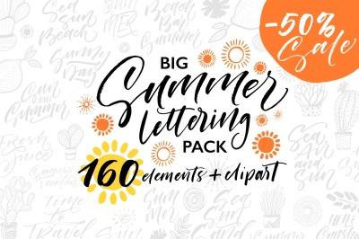 Big Summer Lettering Pack.