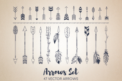 Boho Arrows Set