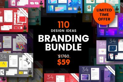 110 in 1 Branding Templates Bundle