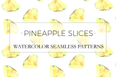 Pineapple Slices Patterns