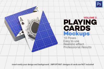 Playing Cards Mock-up V.2