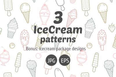 Icecream patterns