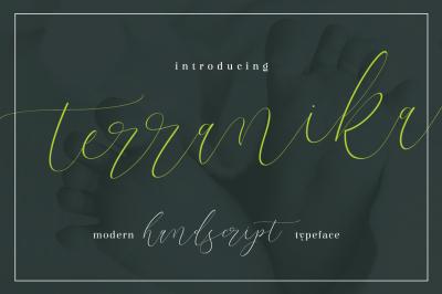 Terranika Typeface
