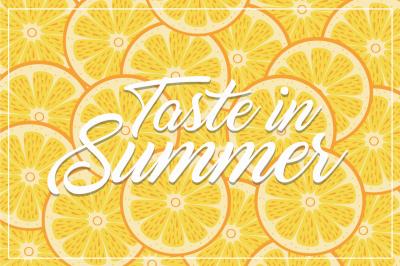 Taste in Summer