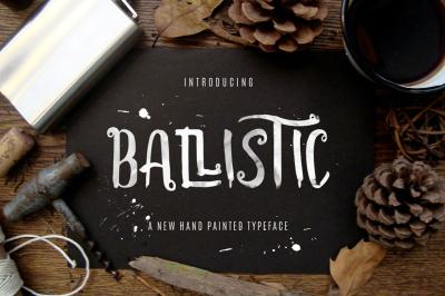 Ballistic Typeface