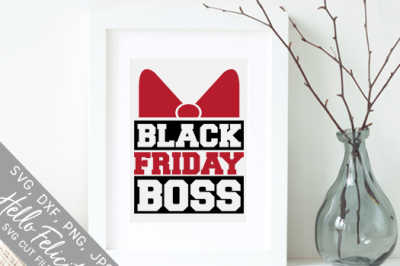 Black Friday Boss SVG Cutting Files