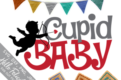 Valentine Cupid Baby SVG Cutting Files