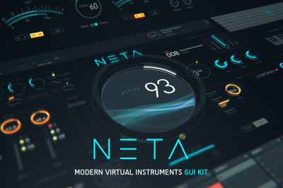 NETA: Modern Virtual Instruments GUI