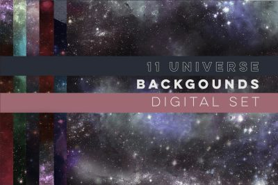 SALE! 11 Galaxy Universe Backgrounds