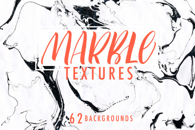 Marble texture collection.