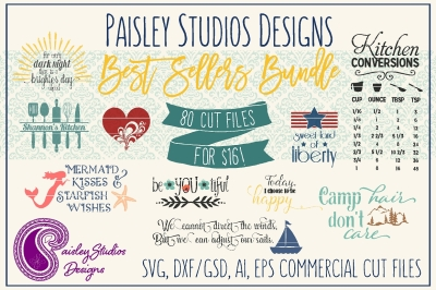 Paisley Studios Designs Best Sellers Bundle