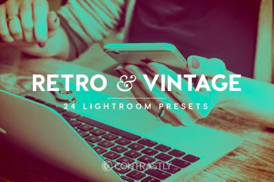 Retro & Vintage Lightroom Presets