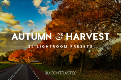 Autumn & Harvest Lightroom Presets Vol.1