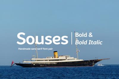 Souses — Bold & Bold Italic