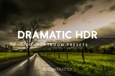 Dramatic HDR Lightroom Presets
