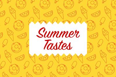 Summer Tastes