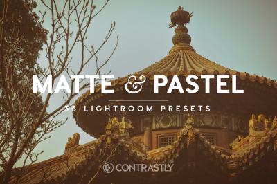 Matte & Pastel Lightroom Presets